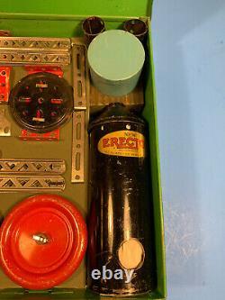 1933 AC Gilbert Super 6 Erector Set Rare Vintage