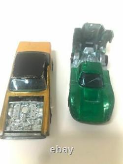 1968 Mattel Hot Wheels Super-Charger Sprint Set with 2 Hot Wheel Cars RARE