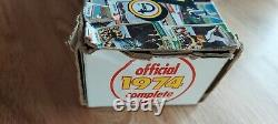 1974 Topps Baseball Factory Set Complete with Traded EX-NM Super Rare Box