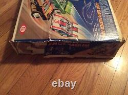 1978, Ideal, Tcr, Jam Car Super Am (slotless) Track, Controllers & Box, Rare
