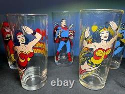 1978 Pepsi Super Heroes Collector Series Full Set with RARE Wonder Women Rev Color
