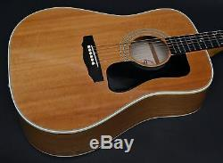 1982 Guild D46 Ash Acoustic Guitar with Case Professionally Set Up! SUPER RARE