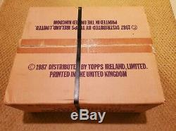 1987 Topps TIFFANY Factory Set CASE! SEALED! Original Tape/Seals/Tags Super Rare
