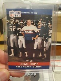 1990 Pro Set #338b Ludwell Denny MINT+ SUPER RARE