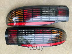 1993-2002 Firebird Firehawk Trans Am WS6 Tail Light SET EXPORT GRID SUPER RARE