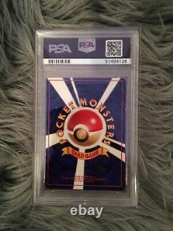 1996 Pokemon Japanese Base Set Charizard PSA 1 SUPER RARE GRADE