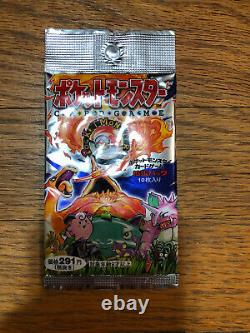 1996 Pokemon Japanese Sealed Booster Pack Base Set Super Rare 291 Yen