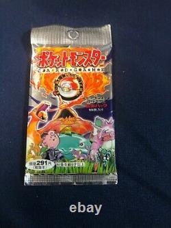 1996 Pokemon Japanese Sealed Booster Pack Base Set Super Rare 291 Yen Charizard