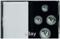 1998 W American Eagle Platinum 4coin Proof Set KEY DATE super low mintage Rare