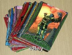 2014 Upper Deck UD Marvel Premier base 60-card complete set /199 super rare