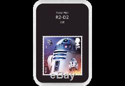 2015 + 2017 UK Official Royal Mail STAR WARS Stamp Set -Yoda. (Super Rare)
