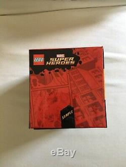 2015 SDCC Exclusive LEGO Marvel Super Heroes Throne of Ultron RARE Sample Set