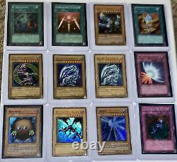 500+ YUGIOH Card Lot Secret/Super/Ultra Rare Cards Vintage Sets + PSA Graded