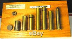 700 Nitro Express Bullet Board Draw Set super rare one only