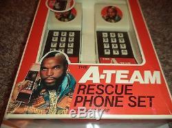 A Team RESCUE PHONE SET (SUPER RARE) UNUSED IN OPEN BOX(LOOK)