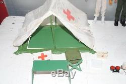 Action Man Palitoy Vintage Medic Figures White Medic Tent Super Rare Set