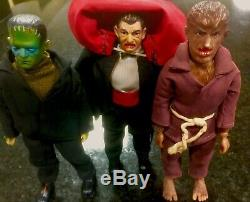 Ahi Monsters Rare 3 Figure Set! Super Rare Jointed Wrist And Type One! Look