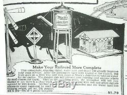 American Flyer Mack's Junction Accessory Set Prewar O Gauge Super Rare