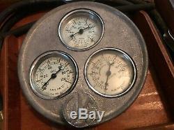 Antique Original Auto Parts nos Engine Tester Set Rare