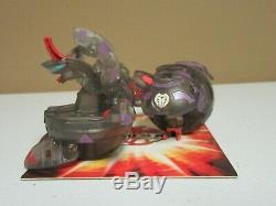Bakugan Translucent Hydranoid Darkus Set of 3 Loose with1 card