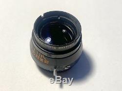 Baltar Lens Set, Rehousing, Super Rare! Bausch&Lomb