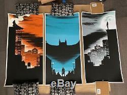 Batman Trilogy Matt Ferguson 3-poster Set Joker Catwoman Nolan Bale Super Rare