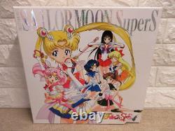 Bishoujo Senshi Sailor Moon SuperS LD Laser Discs Vol. 1-10 Complete Box Set rare