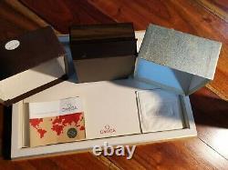 Box Omega Speedmaster super rare 861 set warranty blank vintage 145.022 145.014