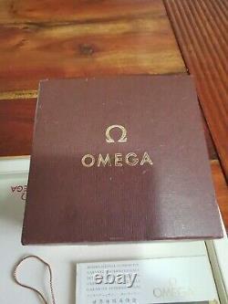 Box Omega Speedmaster super rare 861 set warranty blank vintage 145.022 69st