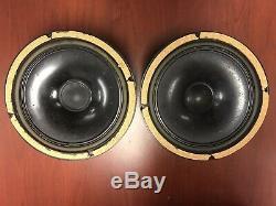 Bozak Super Rare True B800a Set/2 8 Ohm Midrange Speakers Working