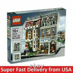 Brand NEW Sealed LEGO Creator Pet Shop (10218) RARE Super Fast Delivery from USA