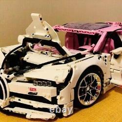Bugatti Chiron Custom Built Pour Lego Technic 42083 Limited Edition Super Rare