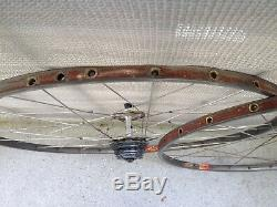 Campagnolo Super Record Wheelset, rare 28H version