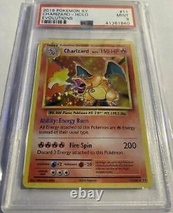 Charizard Holo XY Evolutions 11/108 Super RARE Base Set Art PSA 9 Mint Condition