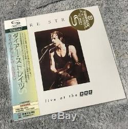 DIRE STRAITS JAPANESE 9 x HMCD MINI ALBUM BOX SET OBI Strips Ex+ Super Rare