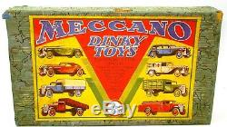 Dinky Pre-war Box Only Set. No. 25 Commercial Motor Vehicles Super Rare