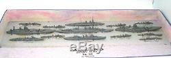 Dinky Pre-war Gift Set. No. 50 Ships Of Then British Navy Super Rare