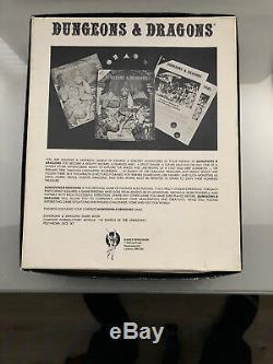 Dungeons & Dragons TSR Basic Set 1978 1001 Rare UK Black sides super condition