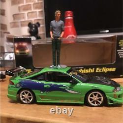Fast & Furious 2002 SUPER RARE miniture car Brian figure set MITSUBISHI Japan