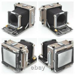 FedEx RARE! SET LINHOF SUPER TECHNIKA V 4X5 180MM FINDER ROLLEX FROM JAPAN