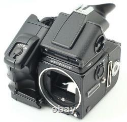 FedEx SUPER RARE BLACK SET HASSELBLAD 503 CW 80MM A12 PME51 WINDER JAPAN