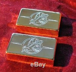 Flying Finger Pickup Covers Super 80's GOLD SET of 2 NOS mega Rare WoW! JVG