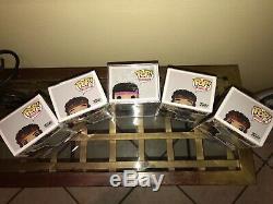 Funko Pop Super Rare Jimi Hendrix 01 Purple Haze and Set of Hendrix Funko Pops