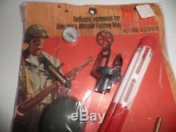 GI Joe 1967 SUPER RARE VINTAGE 7571 Army Combat Engineer Set on card MOC