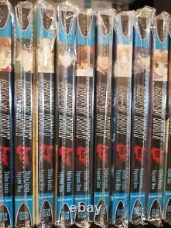 Ghost Hunt vol 1-11 Complete Manga lot set in English Super RARE