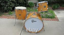 Gretsch Natural Maple Bird's Eye Drum Set SUPER RARE