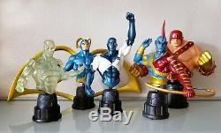 Guardians of the Galaxy Bust Set Bowen GOTG Super Rare Marvel MCU Avengers