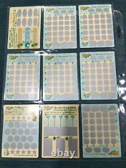 HOLY GRAIL Super Mario RPG Vintage Card/Coin Set Japan Mario Nintendo 1995 RARE