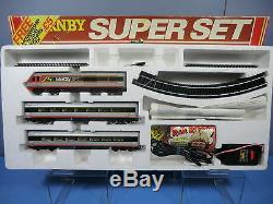HORNBY RAILWAYS No. R696 BR Class 43 125 HST XPT SUPER TRAIN SET MIB RARE