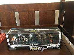Hasbro Star Wars Republic Commando Delta Squad Set Action Figure Super Rare